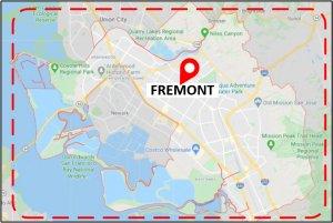 Favorite Plumber Fremont Map