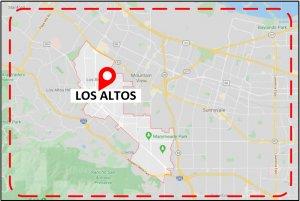 Favorite Plumber Los Altos CA Map