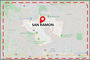 Favorite Plumber San Rafael CA Map