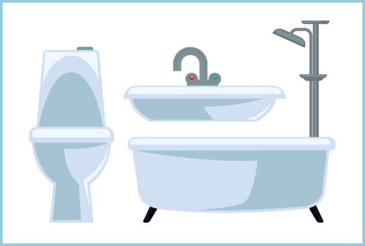 Plumbing Fixtures Serviced