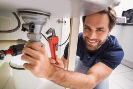Repairing a sink leak