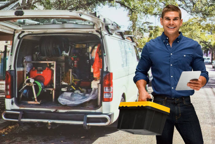 Service Plumbers and Van